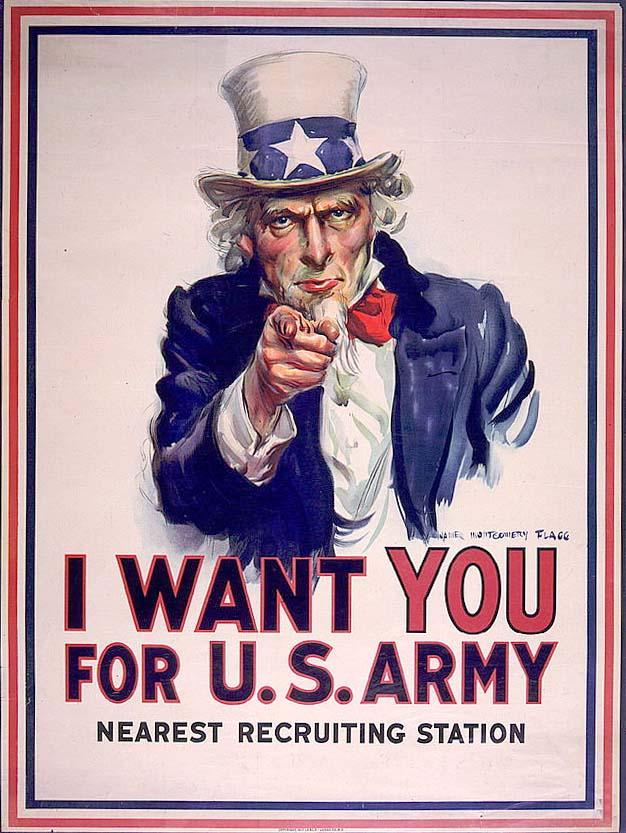 World war 1 recruiting poster1