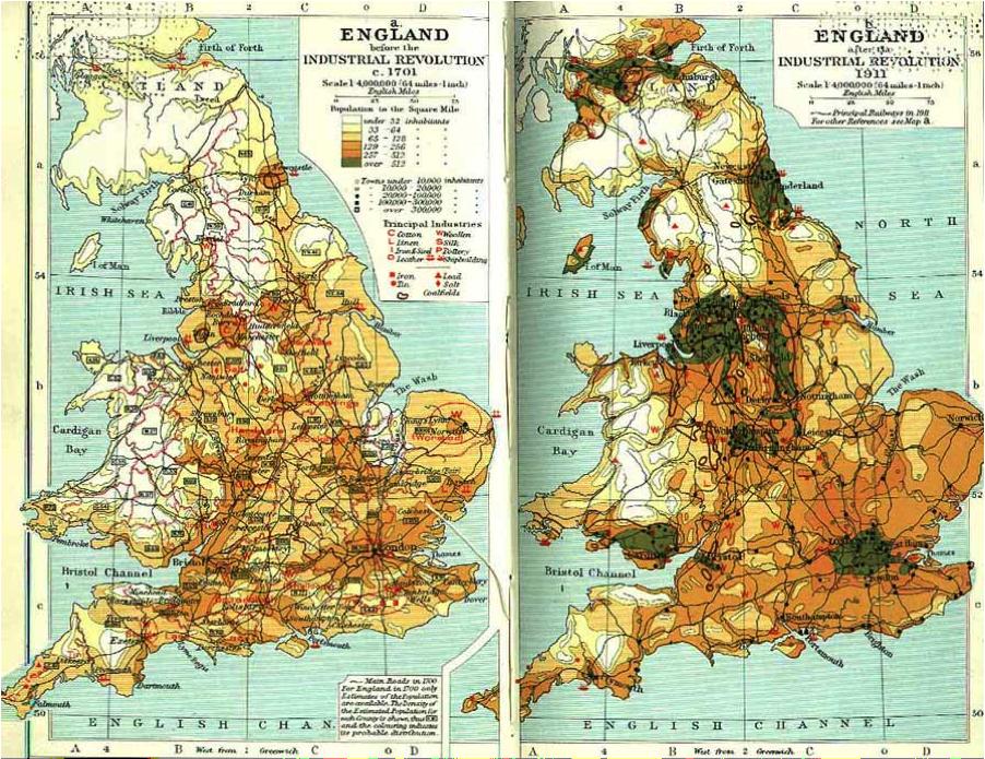 Population Growth PrePost Industrial Revolution  Western